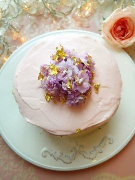 野菜デコサンドケーキ