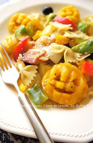 ファルファッレとニョッキのサラダ