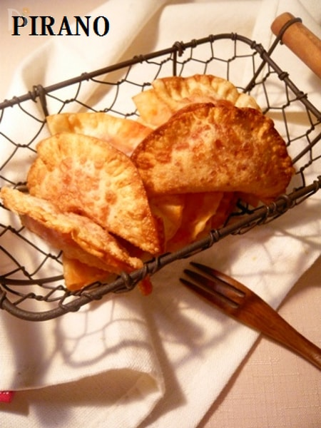 トマトチーズ揚げ餃子