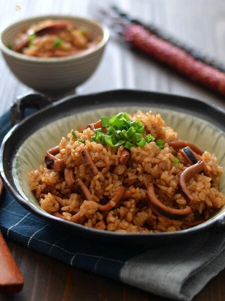 3. 鍋炊きイカ飯