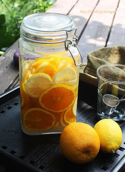 ジューシーオレンジレモネード♪