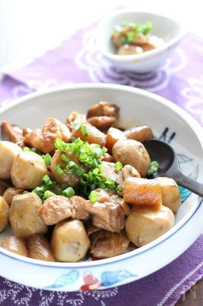 鶏肉と里芋の中華風ほっこり煮