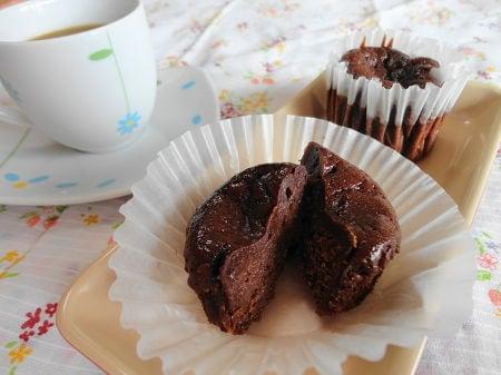しっとりあんチョコケーキ