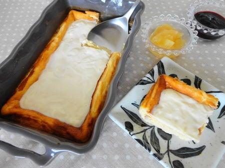 サワークリームトップチーズケーキ