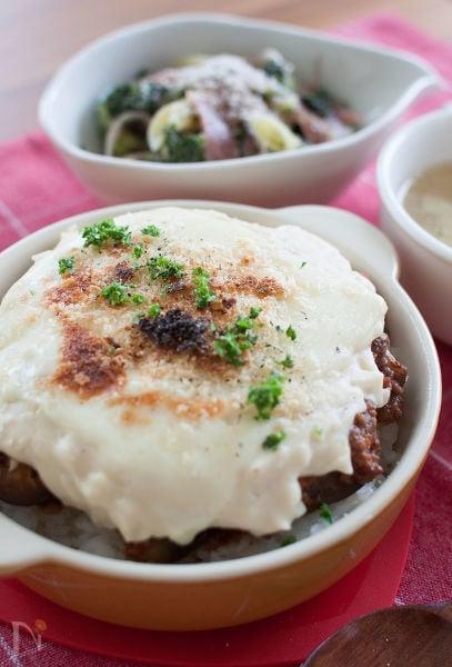 豆乳ホワイトソースドリア