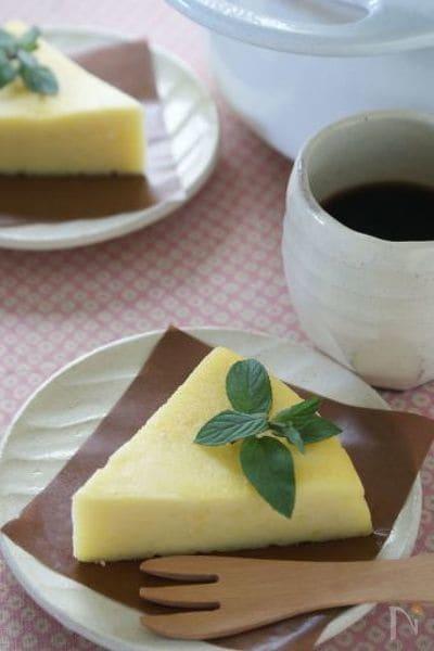 2. さつまいものチーズケーキ