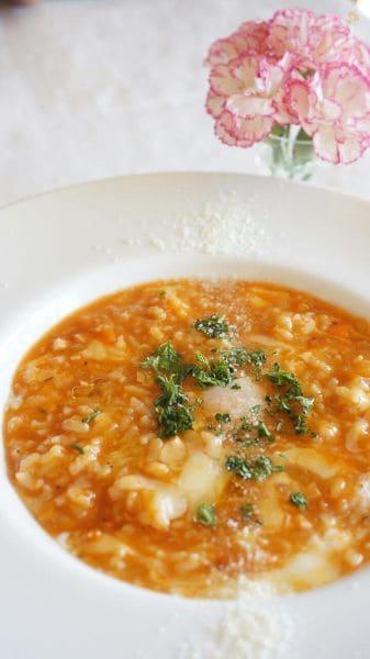 トマトのイタリアン粥