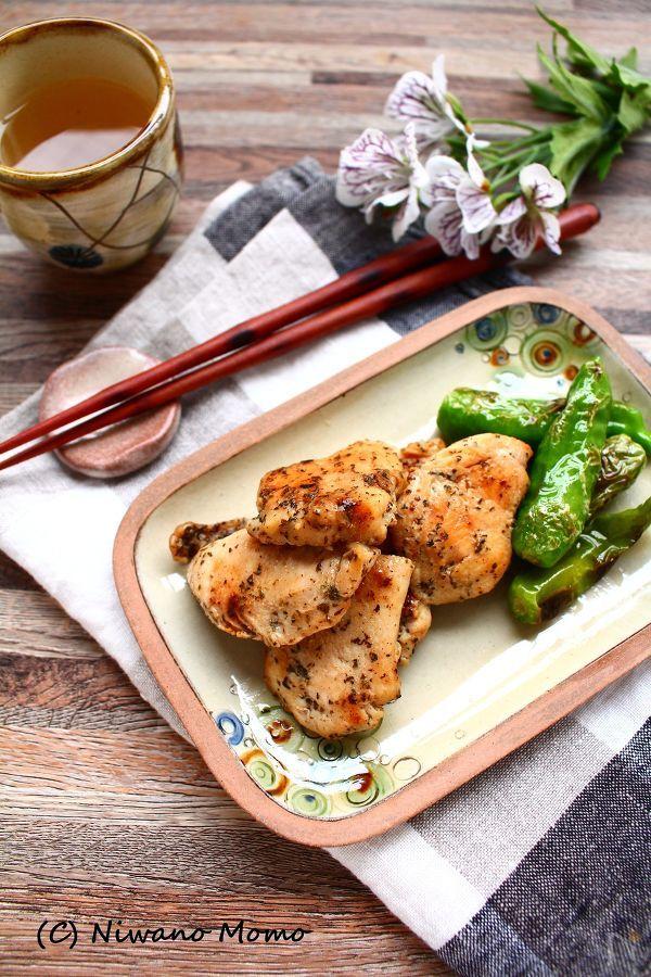 鶏むね肉のゆかりマヨ焼き 【作り置きOK】