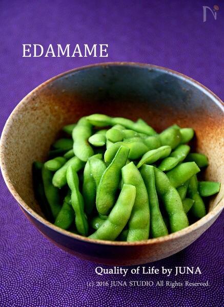 おいしい枝豆の塩茹での作り方(詳しく解説)