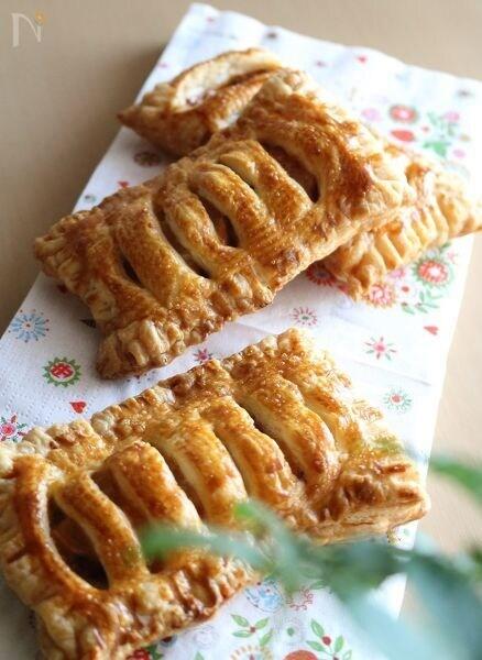 さつまいもとりんごのパイ(プルーンソース入り)