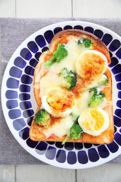 カラフルピザトースト