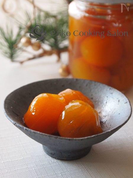 1.金柑の甘露煮