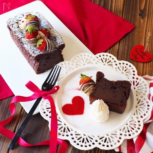 3.生チョコパウンドケーキ