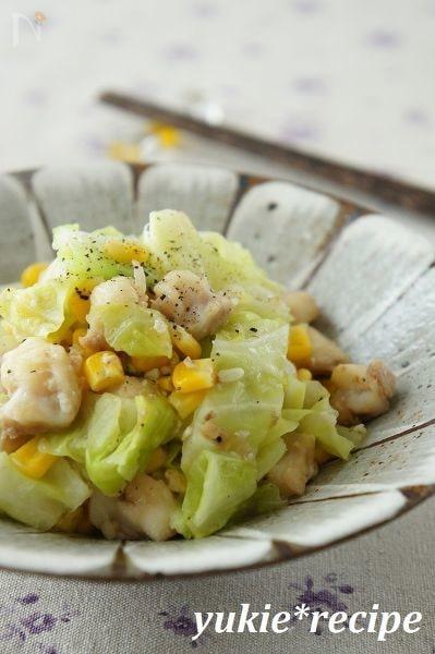 キャベツの炒め物