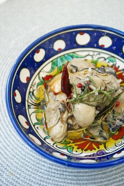 絶品!牡蠣のオイル漬け