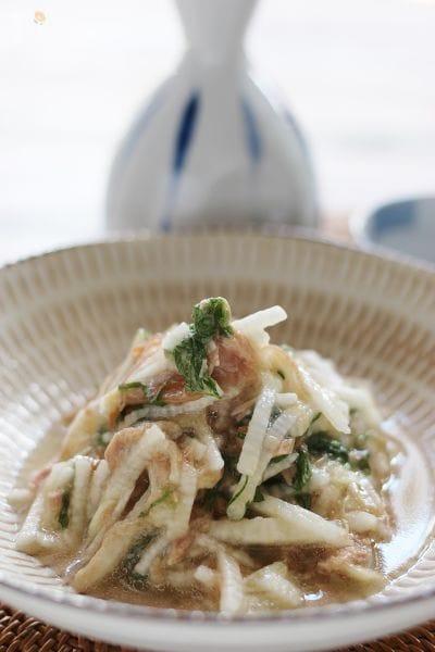 3.長芋とツナの和え物