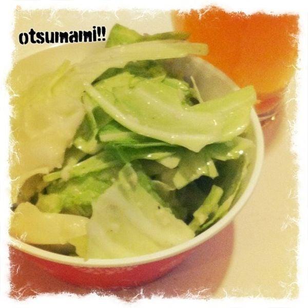 【低カロおつまみ!】塩麹キャベツ