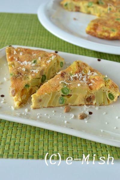 スパニッシュ風納豆オムレツ