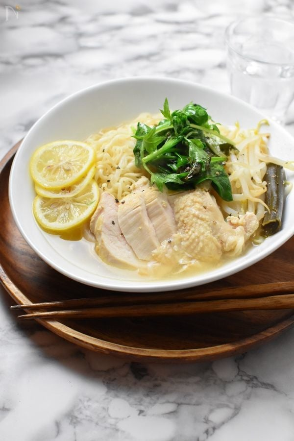 鶏胸コンソメレモンラーメン