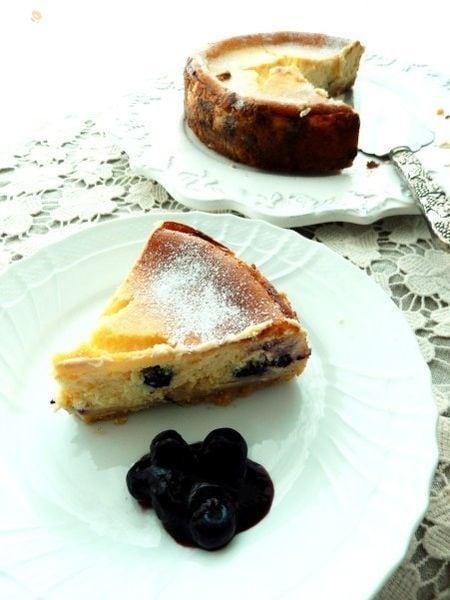 まぜるだけ~のブルーベリーベイクドチーズケーキ