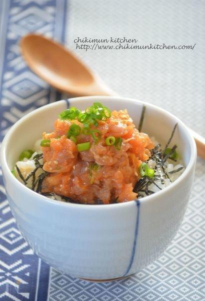 「ネギトロ丼」絶品アレンジレシピ10選!タレもトッピングもお好みで♪の画像