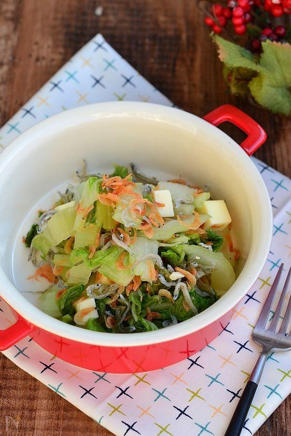 カルシウム満点白菜のサラダ【作りおき】
