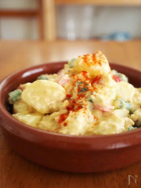 手作りアリオリでスペイン風ポテトサラダ