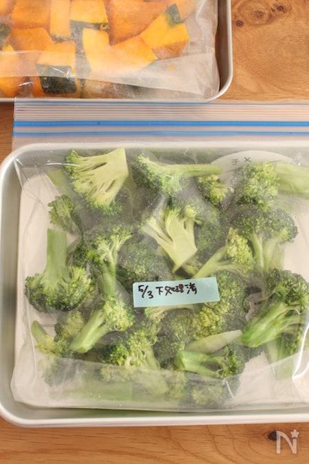 保存 ブロッコリー 冷凍